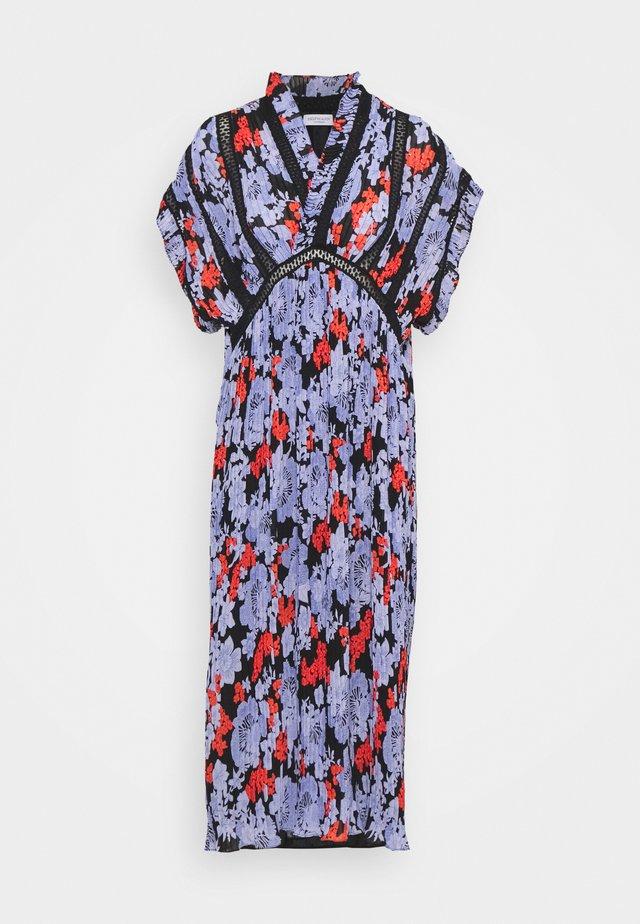 VIRA - Korte jurk - black print