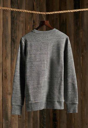 ORANGE LABEL  - Sweatshirt - stone grey feeder