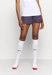 Nike Performance - DRY ACADEMY21 SHORT - Sports shorts - dark raisin/siren red - 0