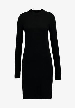 KNIT DRESS NOOS - Fodralklänning - black