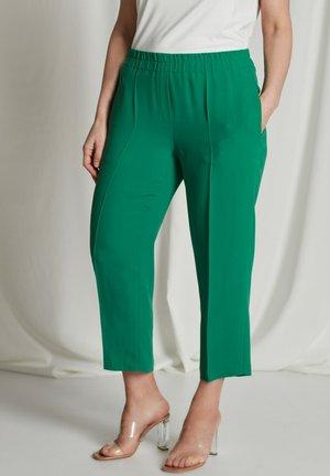 Trousers - palmgrün