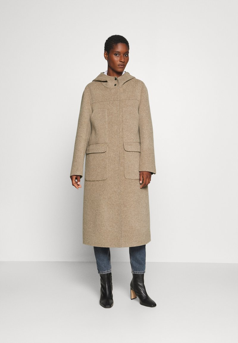 Oakwood - ARIZONA REVERSIBLE - Zimní kabát - beige/grey