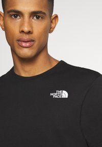 The North Face - MESSAGE TEE - T-Shirt print - black - 3