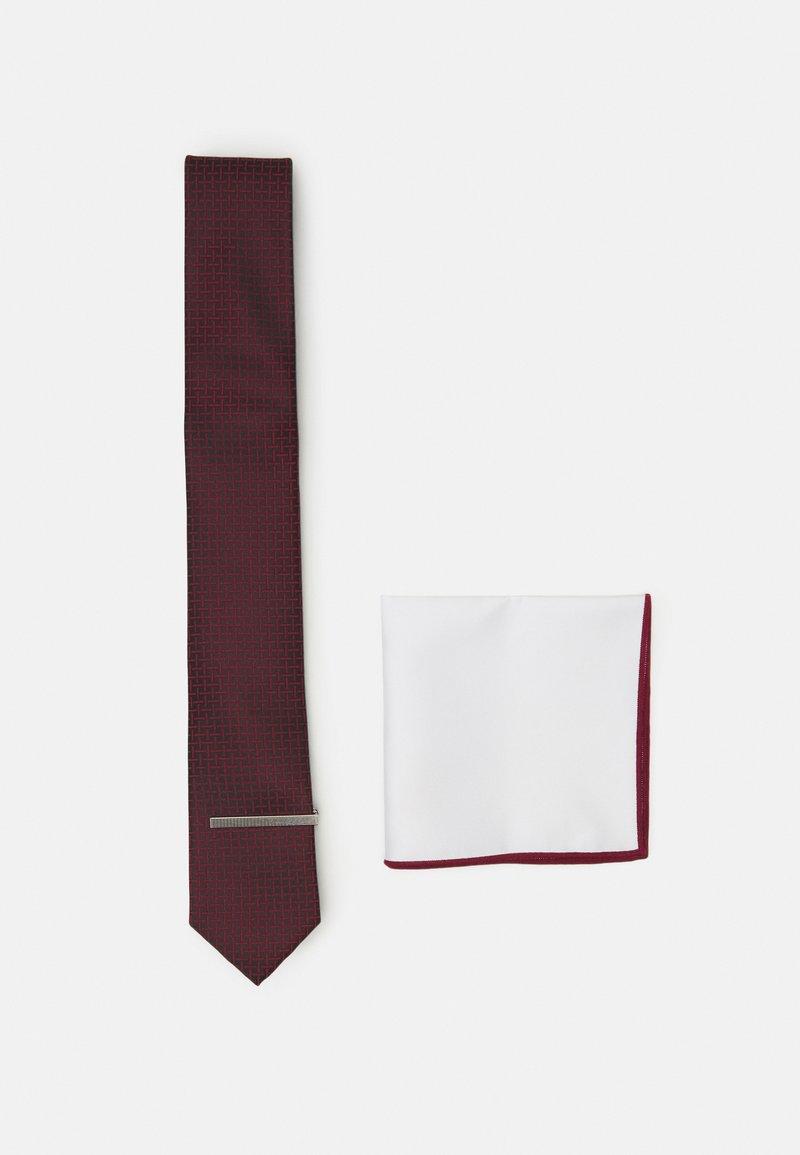 Pier One - SET - Tie - bordeaux