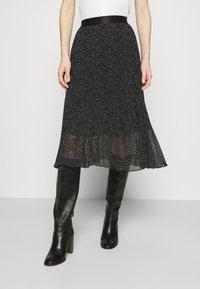edc by Esprit - SKIRT - A-line skirt - black - 0