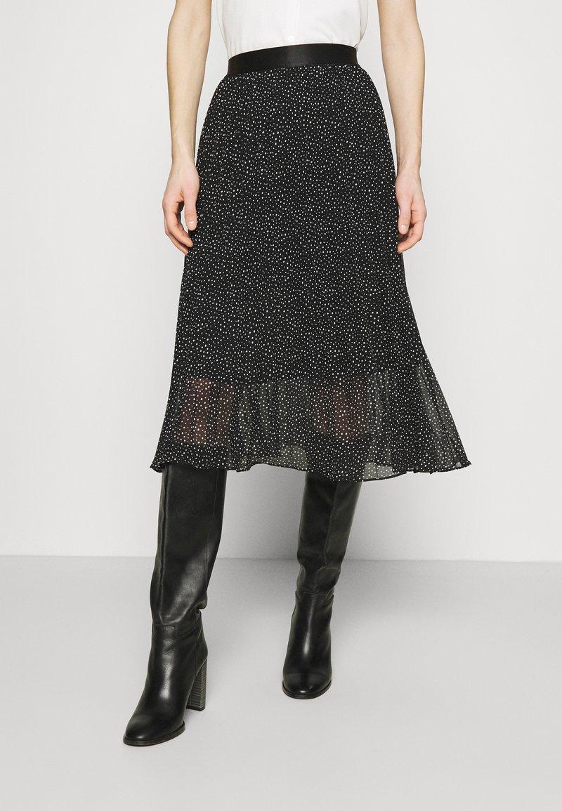 edc by Esprit - SKIRT - A-line skirt - black