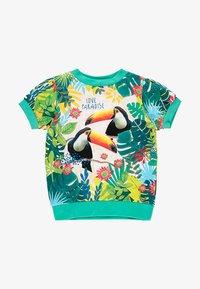 Boboli - T-shirt z nadrukiem - emerald - 0