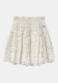 TWINSET - WOVEN  - A-line skirt - off white - 0