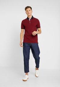 Bugatti - Polo shirt - bordeaux - 1