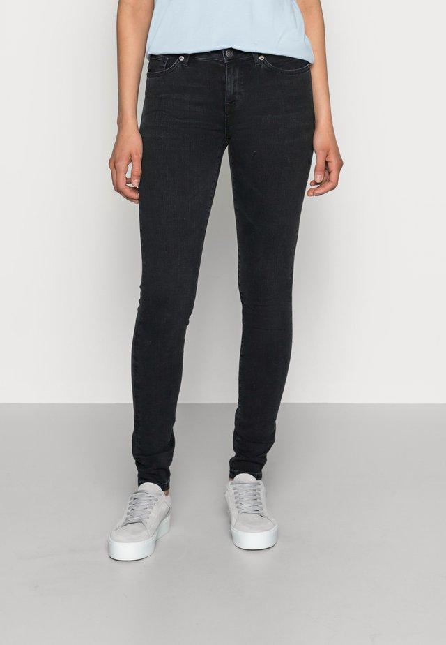 SLFIDA WASH - Jeans Skinny Fit - black denim