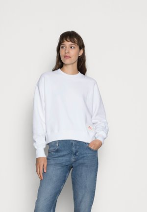 ICONIC BOXY - Sweatshirt - bright white