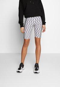 adidas Originals - CYCLING SHORTS - Shorts - black/white - 0