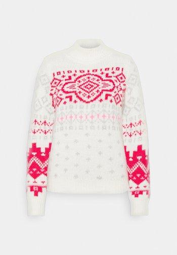 TNECK COZYLOFTY LUXE - Pullover - red fairisle