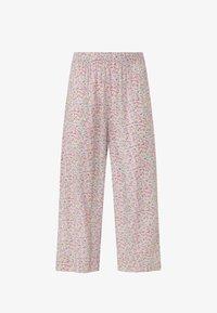 OYSHO - MIT BLÜMCHEN - Pyjama bottoms - beige - 4