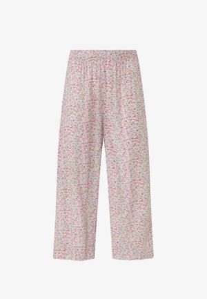 MIT BLÜMCHEN - Pyjama bottoms - beige