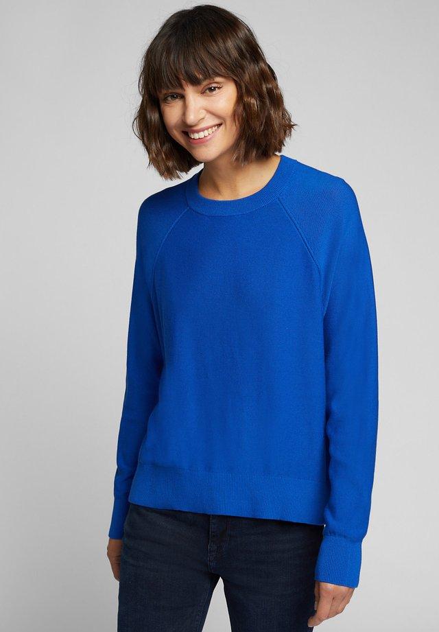 Trui - bright blue
