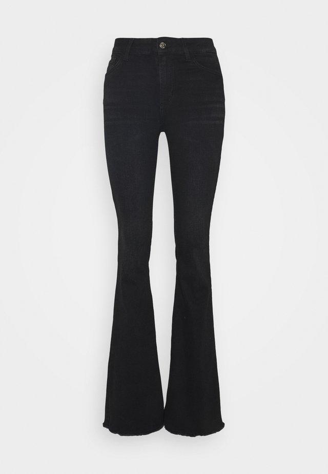 BEAT  - Jean bootcut - black