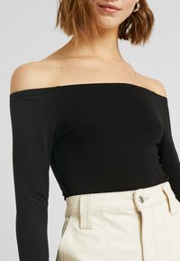 Even&Odd - BASIC - Long sleeved top - black - 5