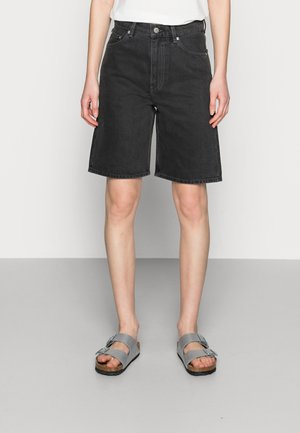 Jeans Short / cowboy shorts - black wash