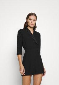 Closet - CLOSET TUXEDO PLAYSUIT - Jumpsuit - black - 0