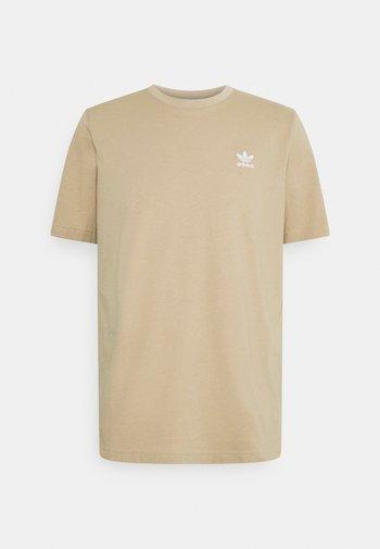 ESSENTIAL TEE - Basic T-shirt - beige tone