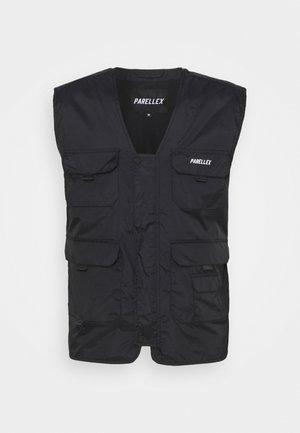 PEAKER VEST - Waistcoat - black