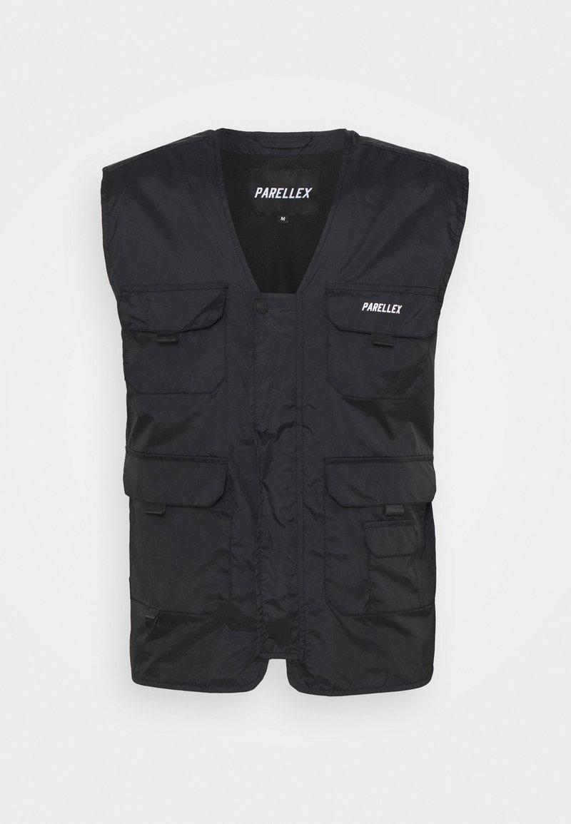 PARELLEX - PEAKER VEST - Bodywarmer - black