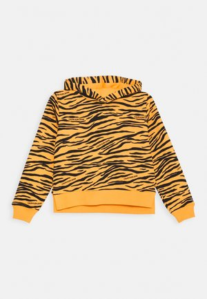 URBAN ANIMAL PRINT HOODIE - Hoodie - yellow