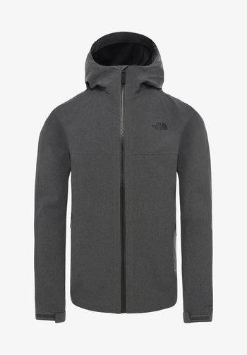 APEX FLEX  - Hardshell jacket - mottled grey