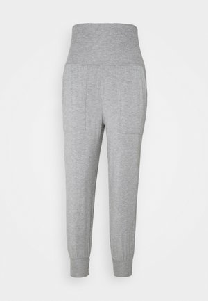 REAL FREE FOLDOVER JOGGER - Pyjamabroek - dark heather gray