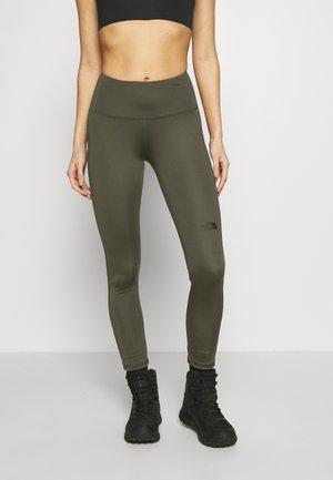 WOMENS NEW FLEX HIGH RISE 7/8 - Legging - new taupe green