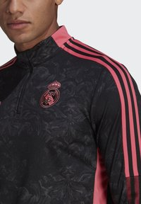 adidas Performance - REAL MADRID AOP TR TOP - Landslagströjor - black - 4