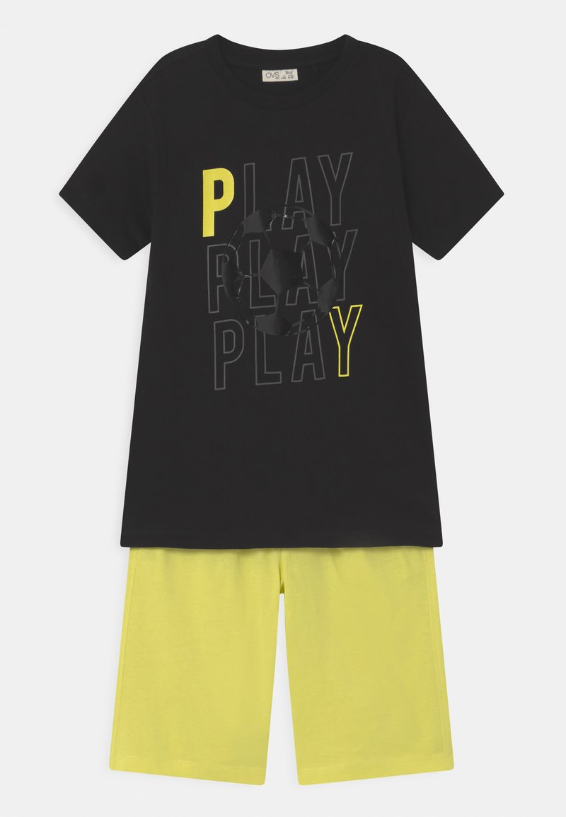 OVS - SET - Print T-shirt - black beauty
