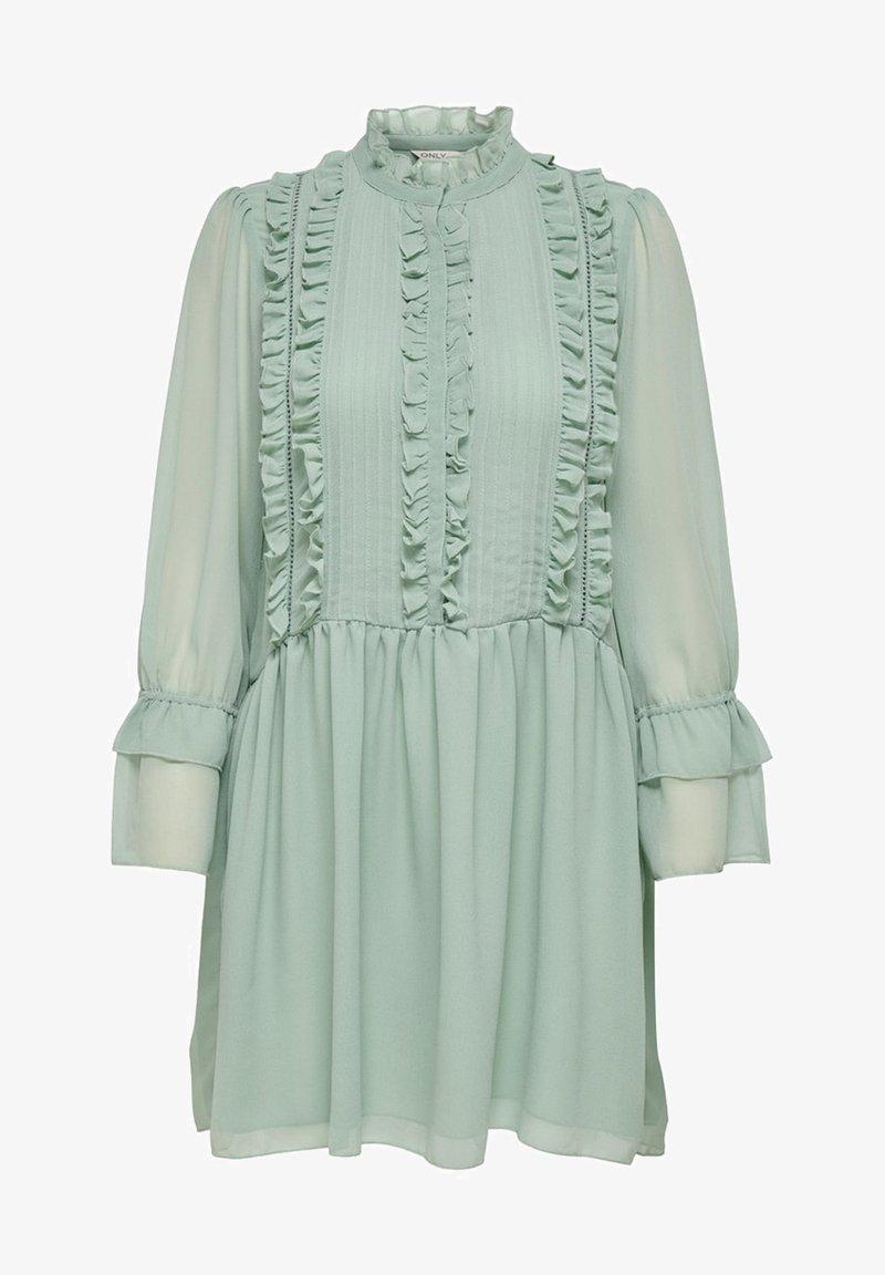 day dress - jade green