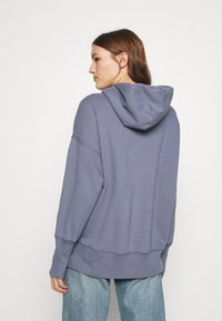 Abercrombie & Fitch - LOGO POPOVER - Hoodie - blue - 2