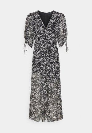 DRESS - Maxi šaty - black/white