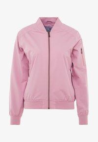 Cross Sportswear - BOMBER JACKET - Kurtka przeciwdeszczowa - old pink - 4