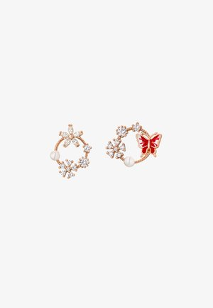 JEDIDA - Earrings - rose goldfarbend