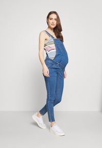Missguided Maternity - DUNAGREE - Dungarees - blue - 1