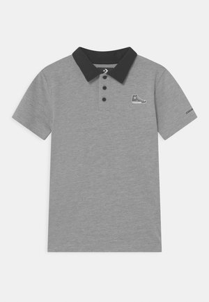 SNEAKER PATCH - Poloshirts - dark grey heather