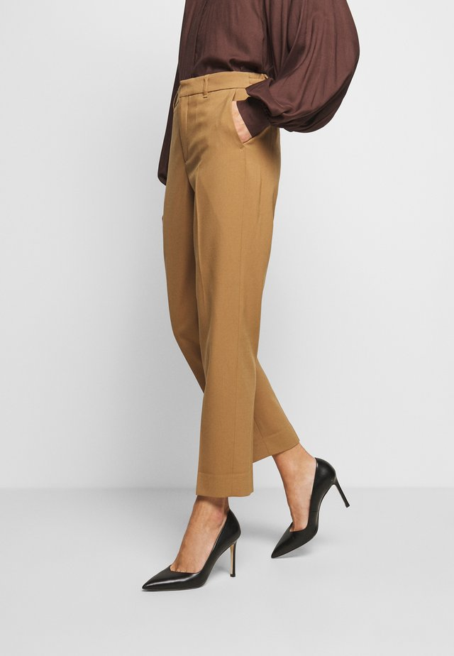 SEARCH - Spodnie materiałowe - braun