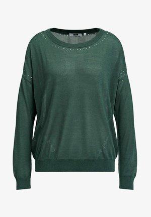 Jumper - moss green