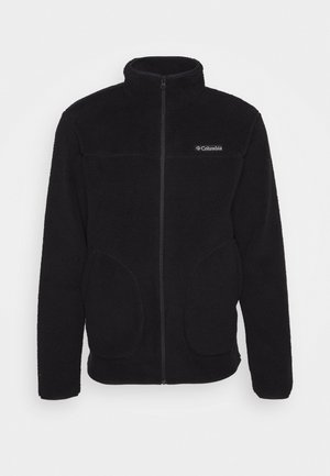 RUGGED RIDGEII - Fleecejacke - black