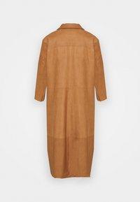 DEPECHE - DRESS - Blousejurk - camel - 1