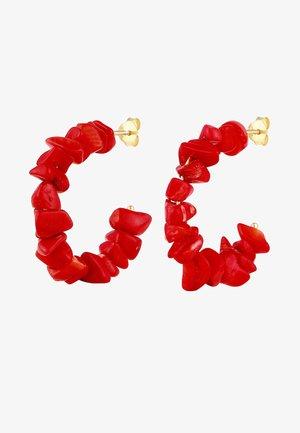 Orecchini - red