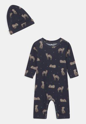 NBMLINUS SET - Pyjamas - dark sapphire