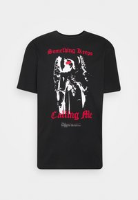 PRAY - CALLING ME UNISEX - Print T-shirt - black - 0