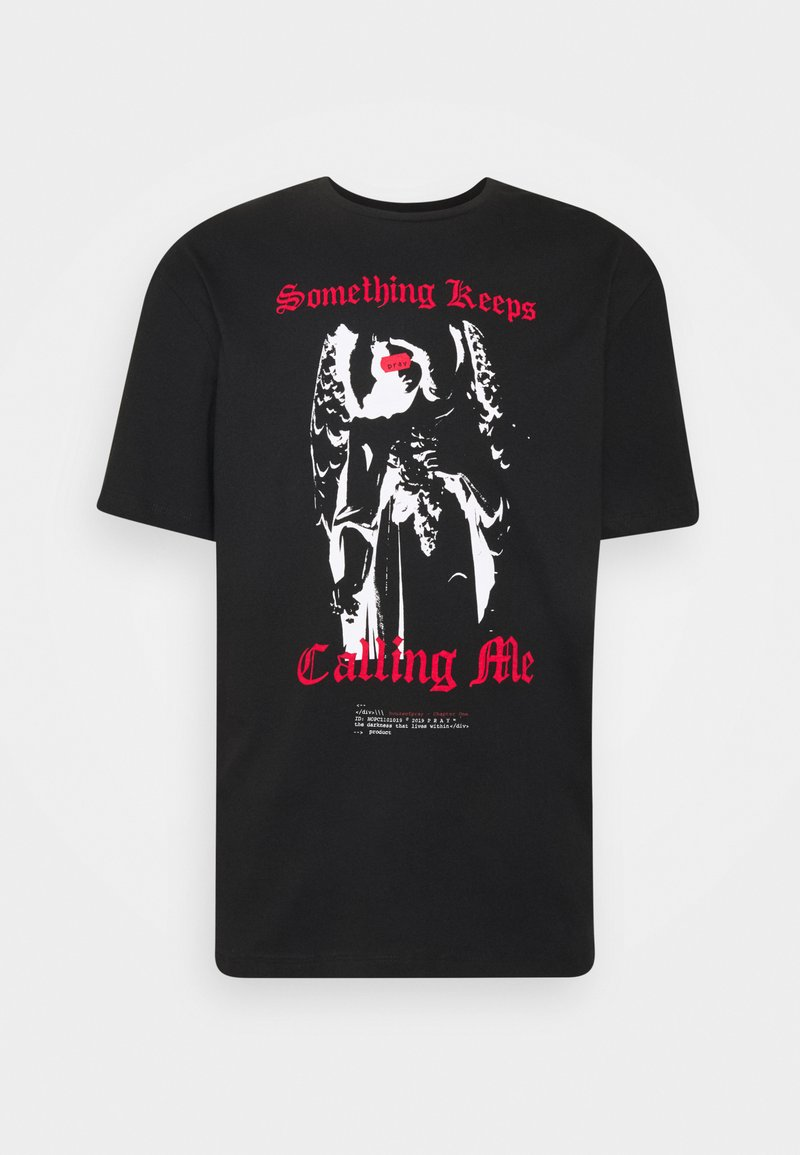 PRAY - CALLING ME UNISEX - Print T-shirt - black