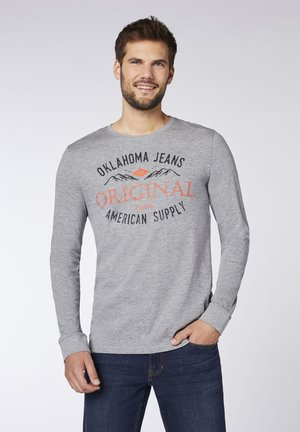 REGULAR FIT - Long sleeved top - neutr. gray