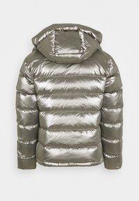 Blauer - GIUBBINI CORTI IMBOTTITO - Down jacket - metallic silver - 1
